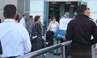 Tourists arrive in Hurghada