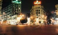 cairo shopping at night