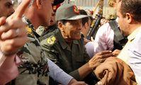 Egypt's Defence Minister Mohamed Hussein Tantawi
