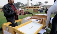 Voting in Egypt