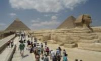 12.5 million tourists visited Egypt in 2009