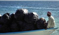 Red Sea rubbish disposed freely