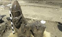 Egypt unearths 3,400-year-old granite statues