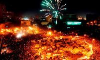 Cairo erupts in joy after Mubarak resigns