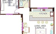 Apartment: Apartment 22 with 1 bedroom 50m2 (AP4884)
