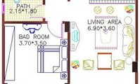Apartment: Apartment 31 with 1 bedroom 55m2 (AP4881)