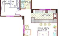 Apartment: Apartment 32 with 1 bedroom 50m2 (AP4885)