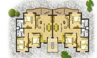 Apartment: Three bedroomed apartment at The View Nabq (AP4181)